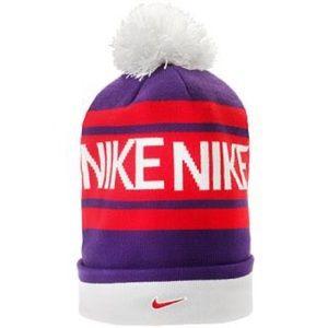 NIKE Beanie Knit Pom Hat